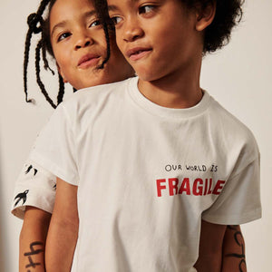Natural Our World is Fragile T- Shirt