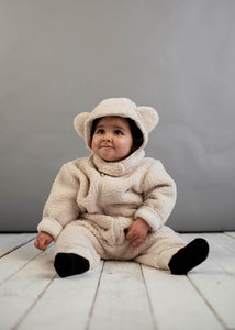 Natural Teddy Bear Furry Suit