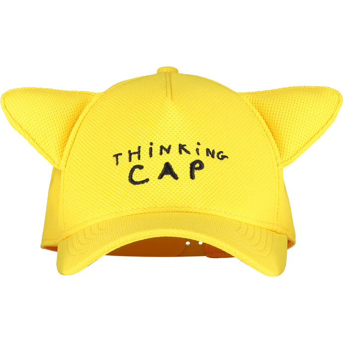 Sunshine Yellow Thinking Cap With Ears