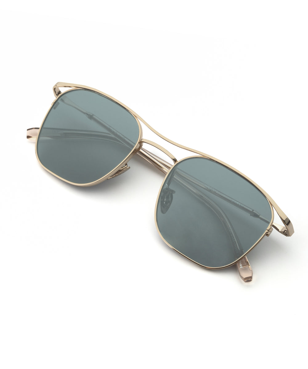 BAKER | 12K to Buff Handcrafted, Titanium Sunglasses