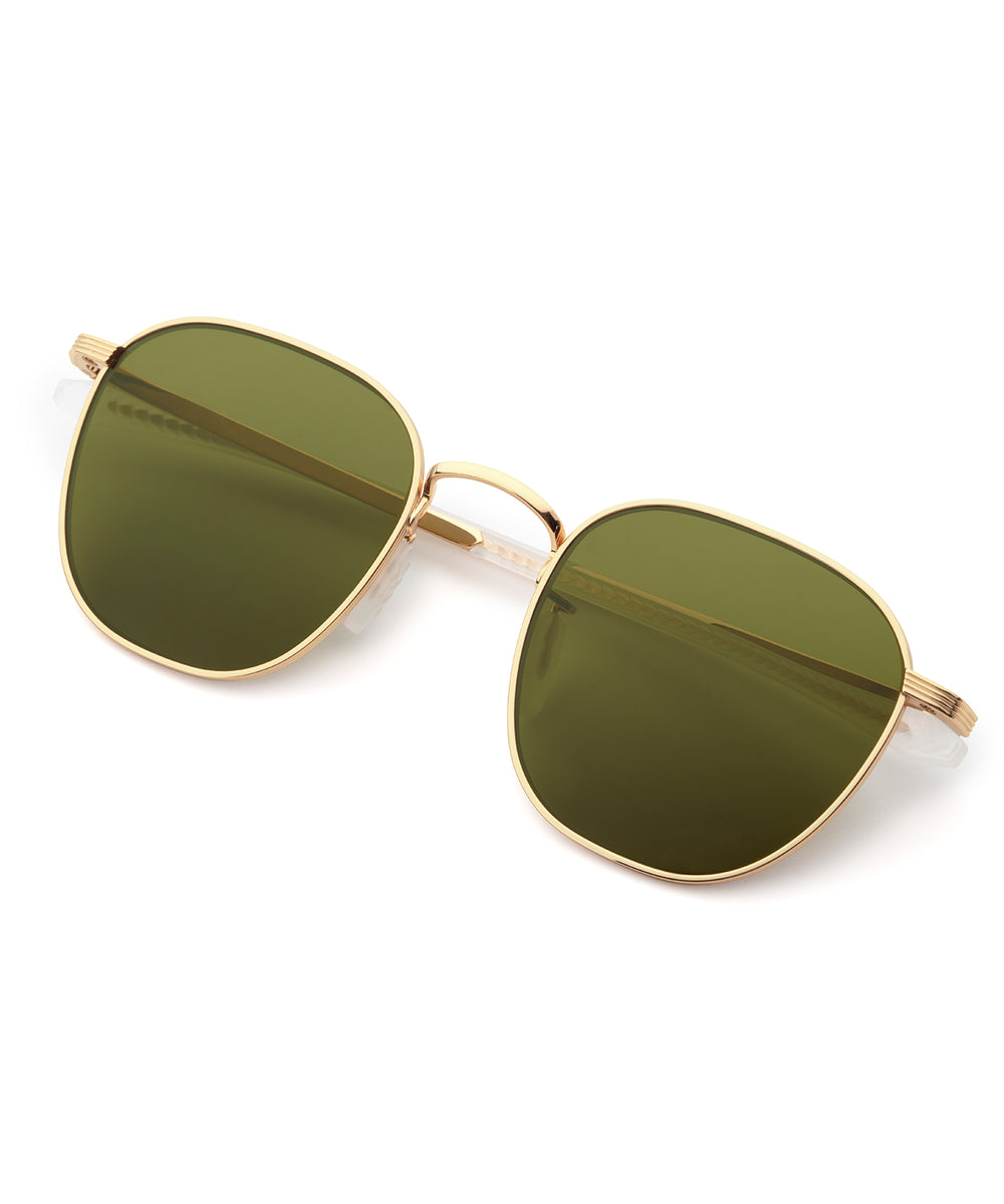 BANKS | 18K Titanium Polarized Handcrafted, Premium Titanium Sunglasses