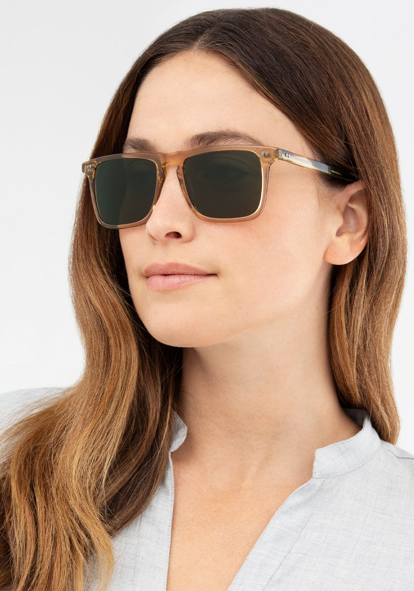 BEALE | Sweet Tea + Oak Handcrafted, Acetate Sunglasses