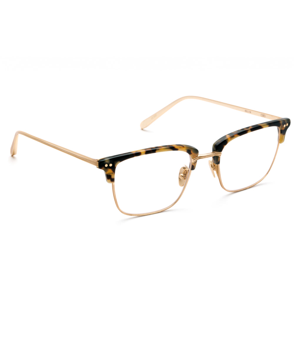 CBD OPTICAL | Blonde Tortoise - Handcrafted Acetate Eyewear
