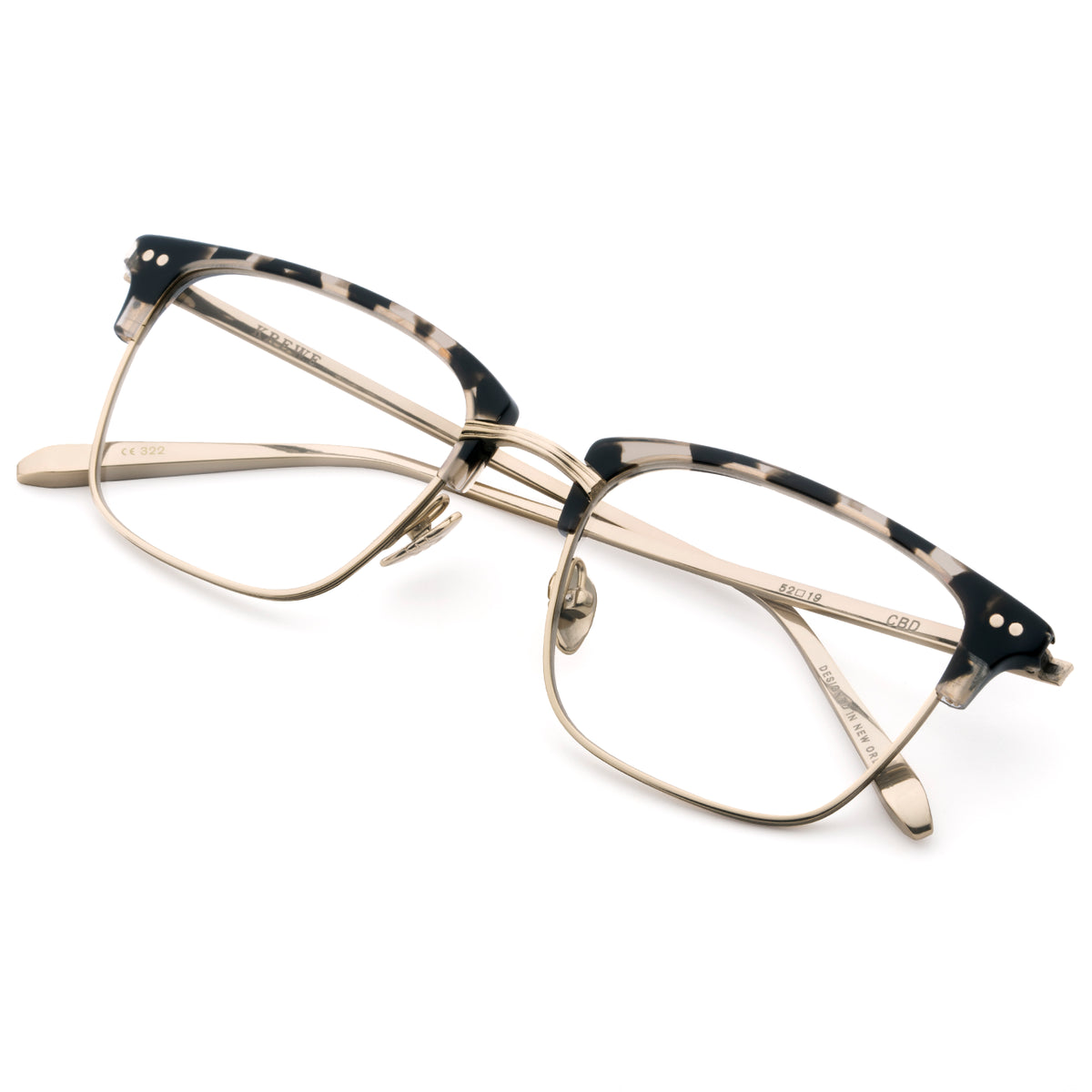 CBD OPTICAL | Charcoal - Handcrafted Acetate Eyewear