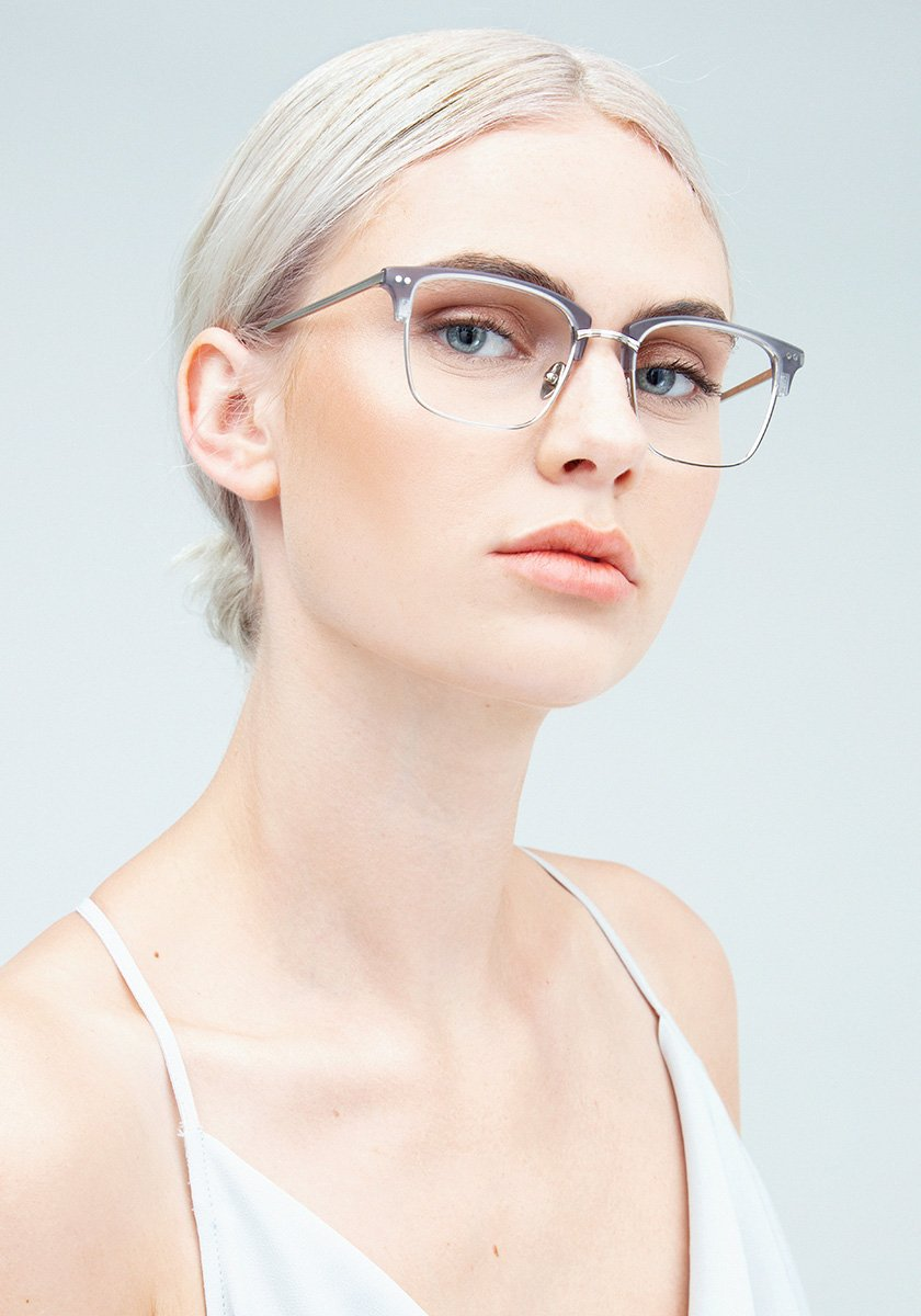 CBD OPTICAL | Matte Ash Handcrafted, Acetate Frames