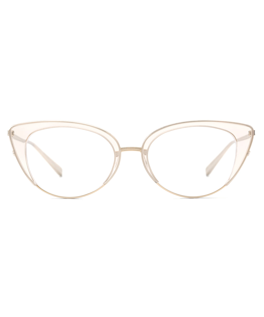 CLARA | Buff Handcrafted, Acetate Frames