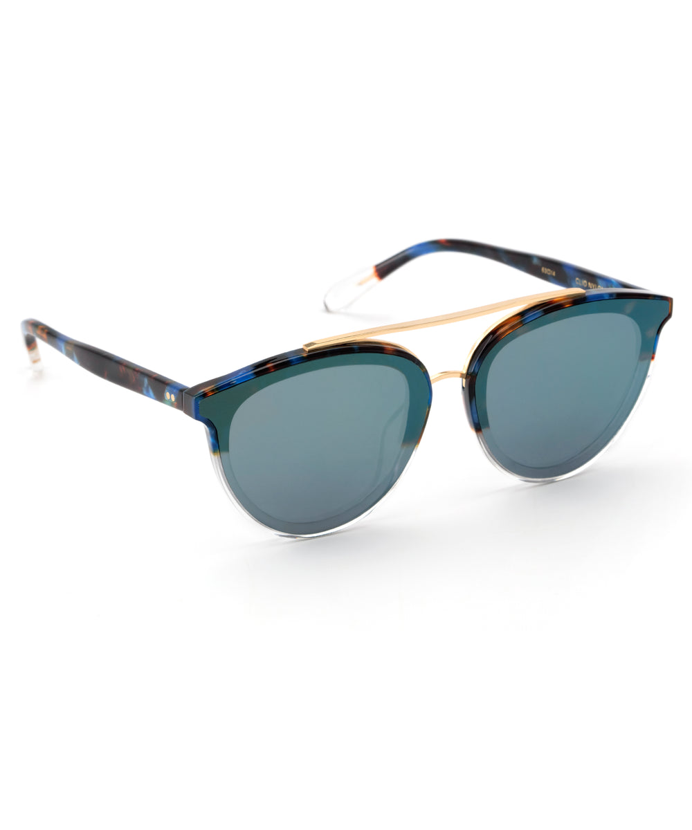 CLIO NYLON | Blue Steel to Crystal 24K