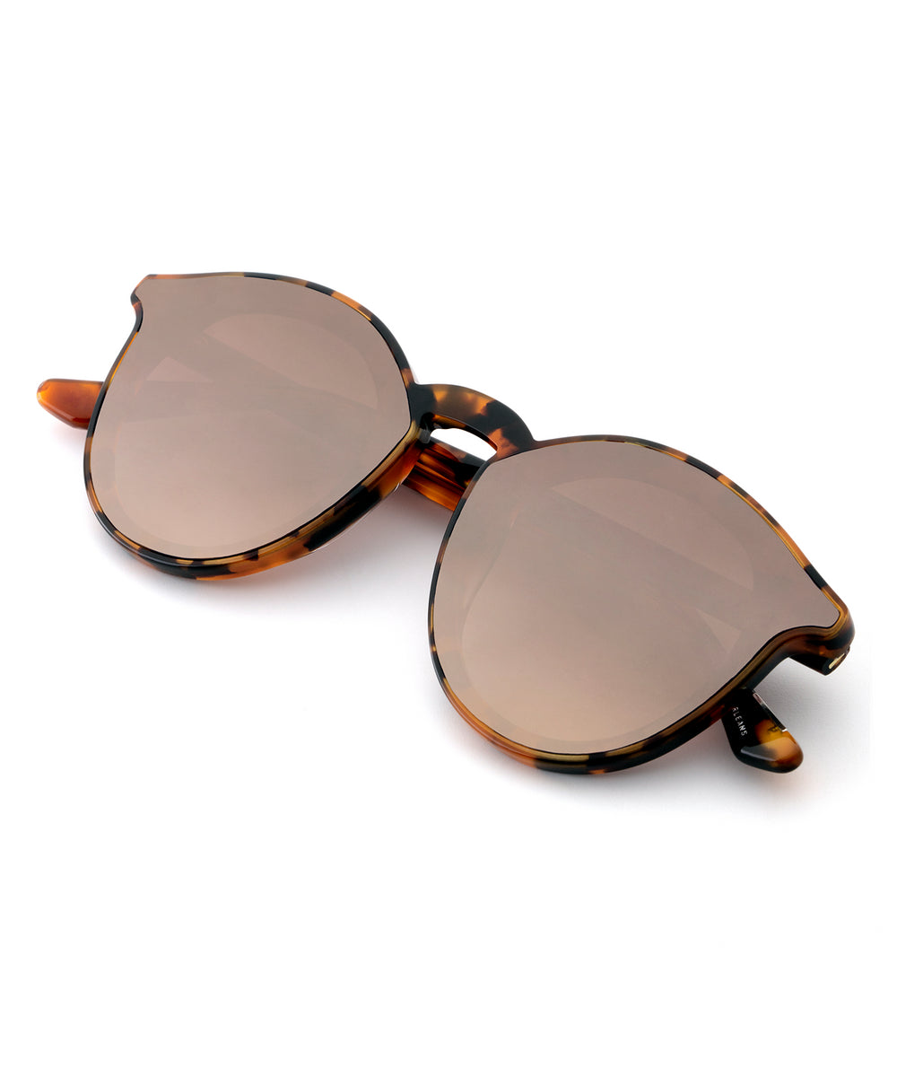 COLLINS NYLON | Havana handcrafted acetate sunglasses