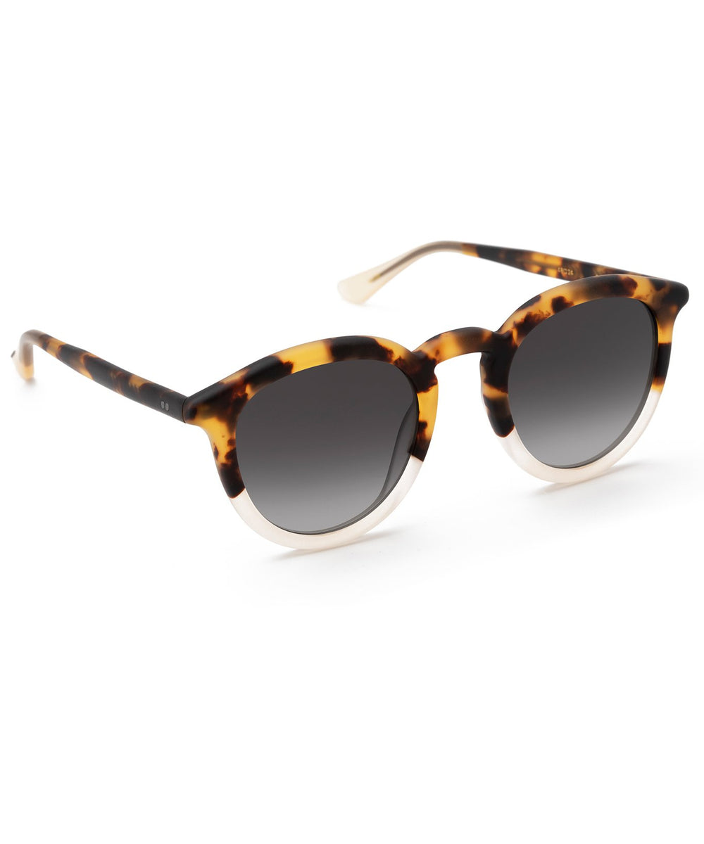 COLLINS | Matte Tokyo Tortoise to Haze Handcrafted, Acetate Sunglasses