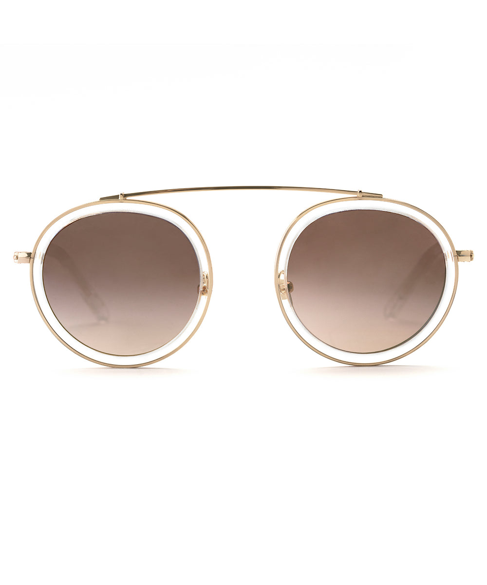 CONTI | Crystal 24K handcrafted acetate sunglasses