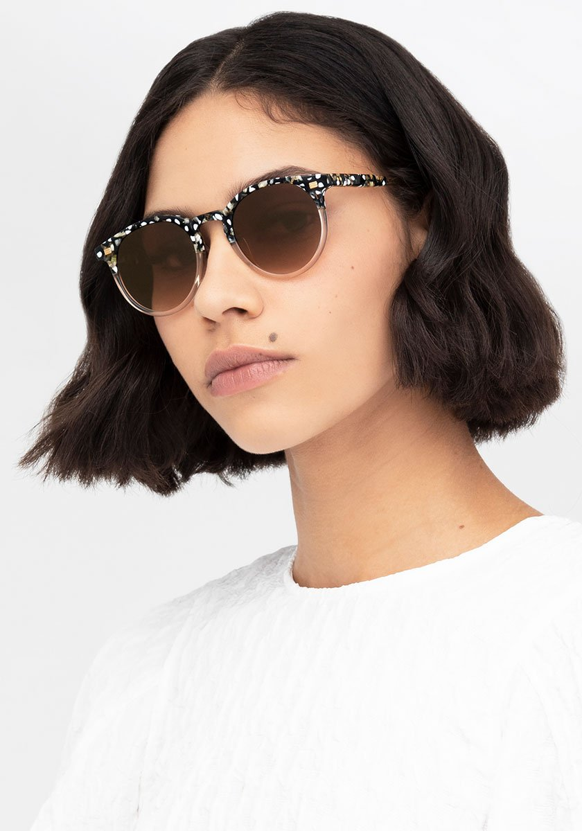 COOPER | Plume to Haze Handcrafted, acetate sunglasses