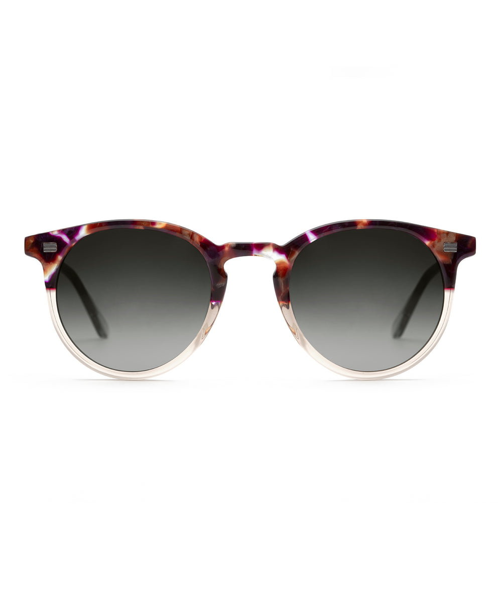 COOPER | Stardust to Buff Handcrafted, acetate sunglasses