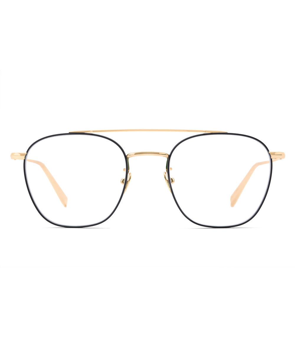 EARHART OPTICAL | 18K + Matte Black