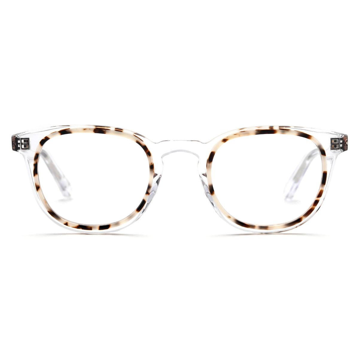 ELM | Crystal to Oyster  - handcrafted acetate eyewear