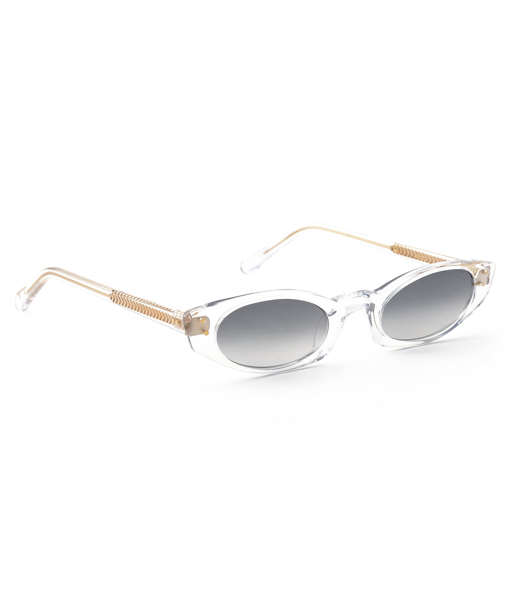 FERN | Crystal handcrafted acetate sunglasses