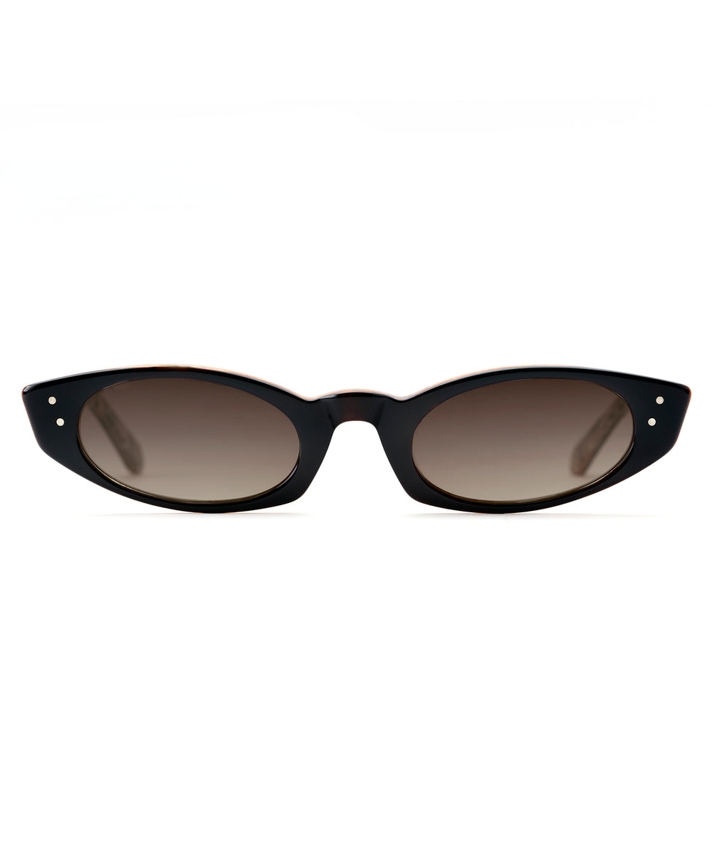 FERN | Black + Mystic handcrafted acetate sunglasses