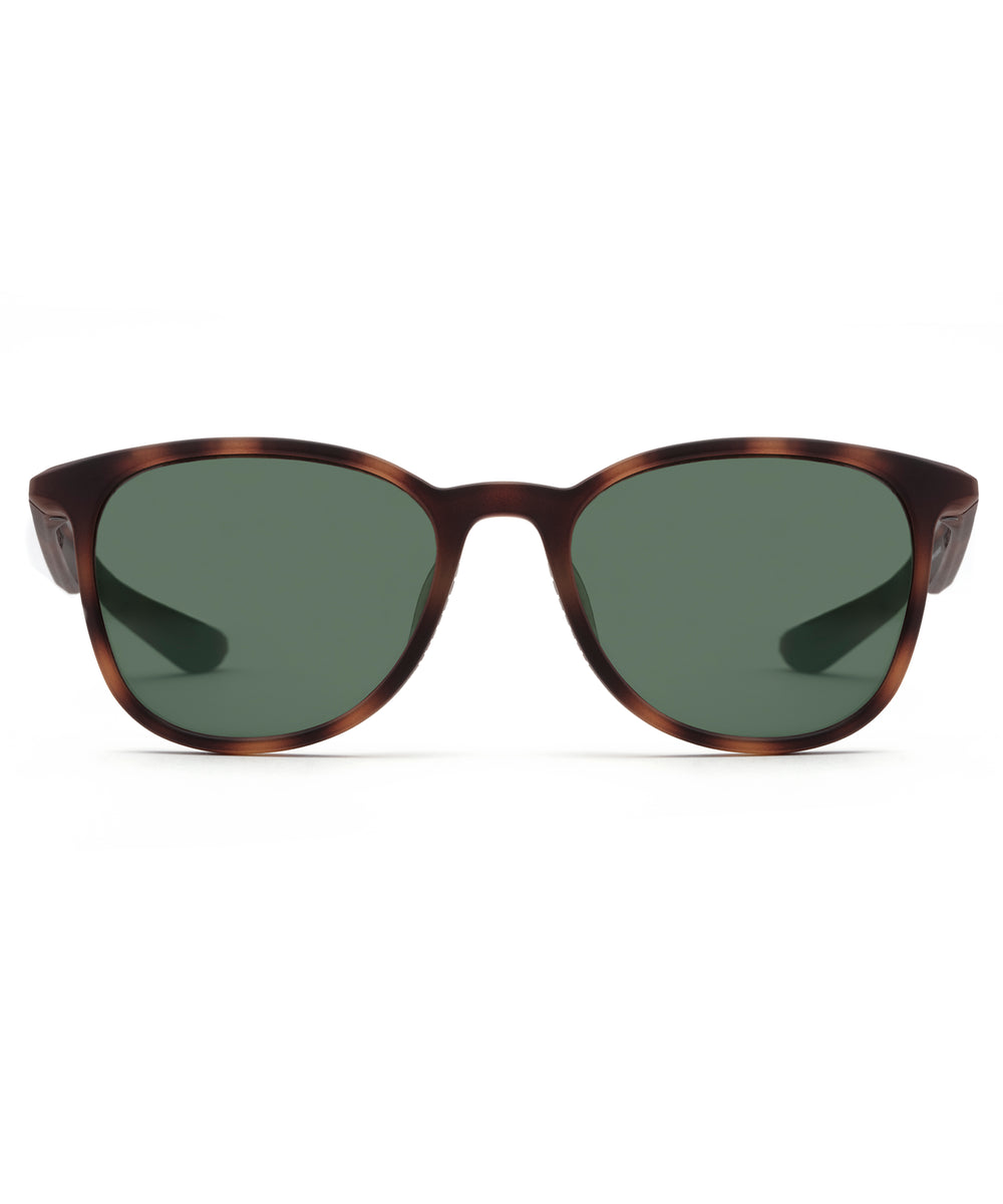 FERRIS | Matte Bay Tortoise Polarized Hand-Painted, Bio-Plastic Sunglasses