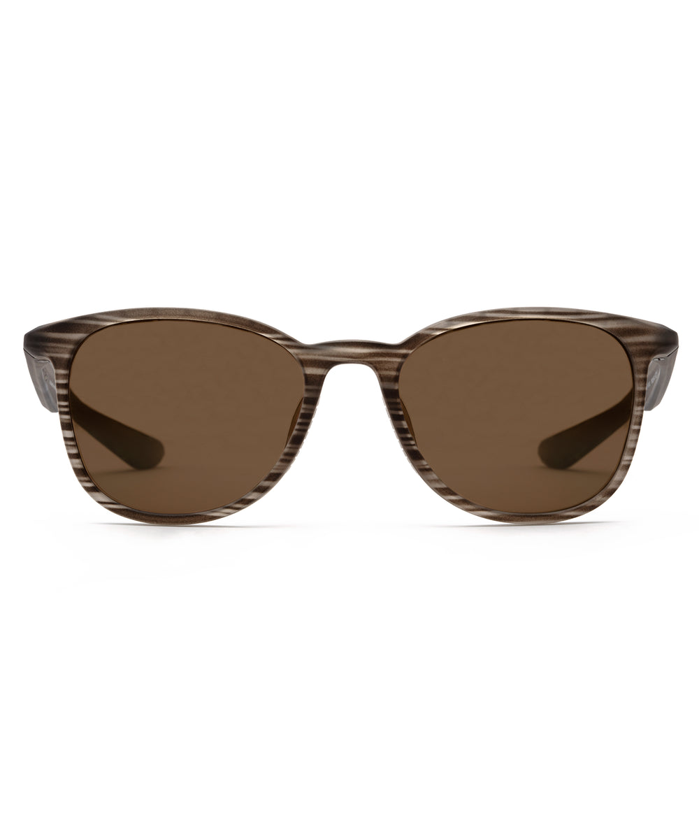 FERRIS | Matte Brush Polarized Hand-Painted, Bio-Plastic Sunglasses
