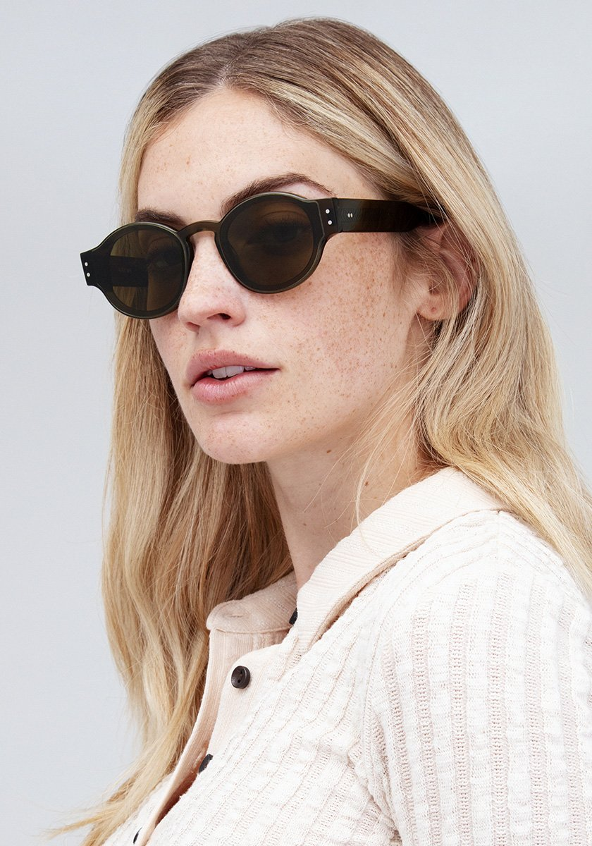 FILMORE NYLON | Sage Handcrafted, Acetate Sunglasses | Featured Model