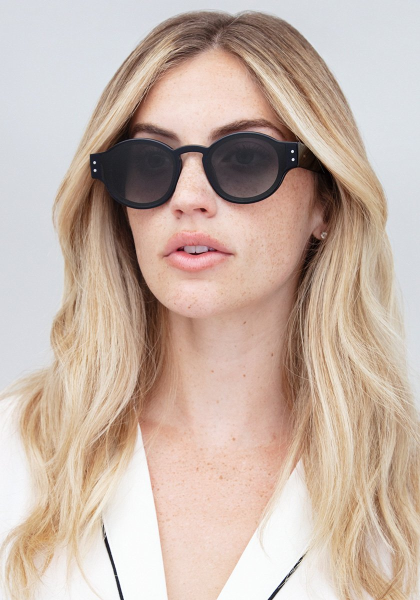 FILMORE | Black + Shadow Handcrafted, Acetate Sunglasses | Featured Model | Womens