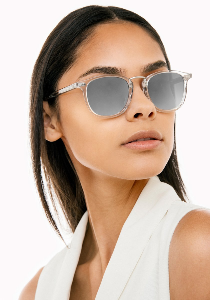 FRANKLIN | Crystal Handcrafted, Acetate Sunglasses | Featured Model