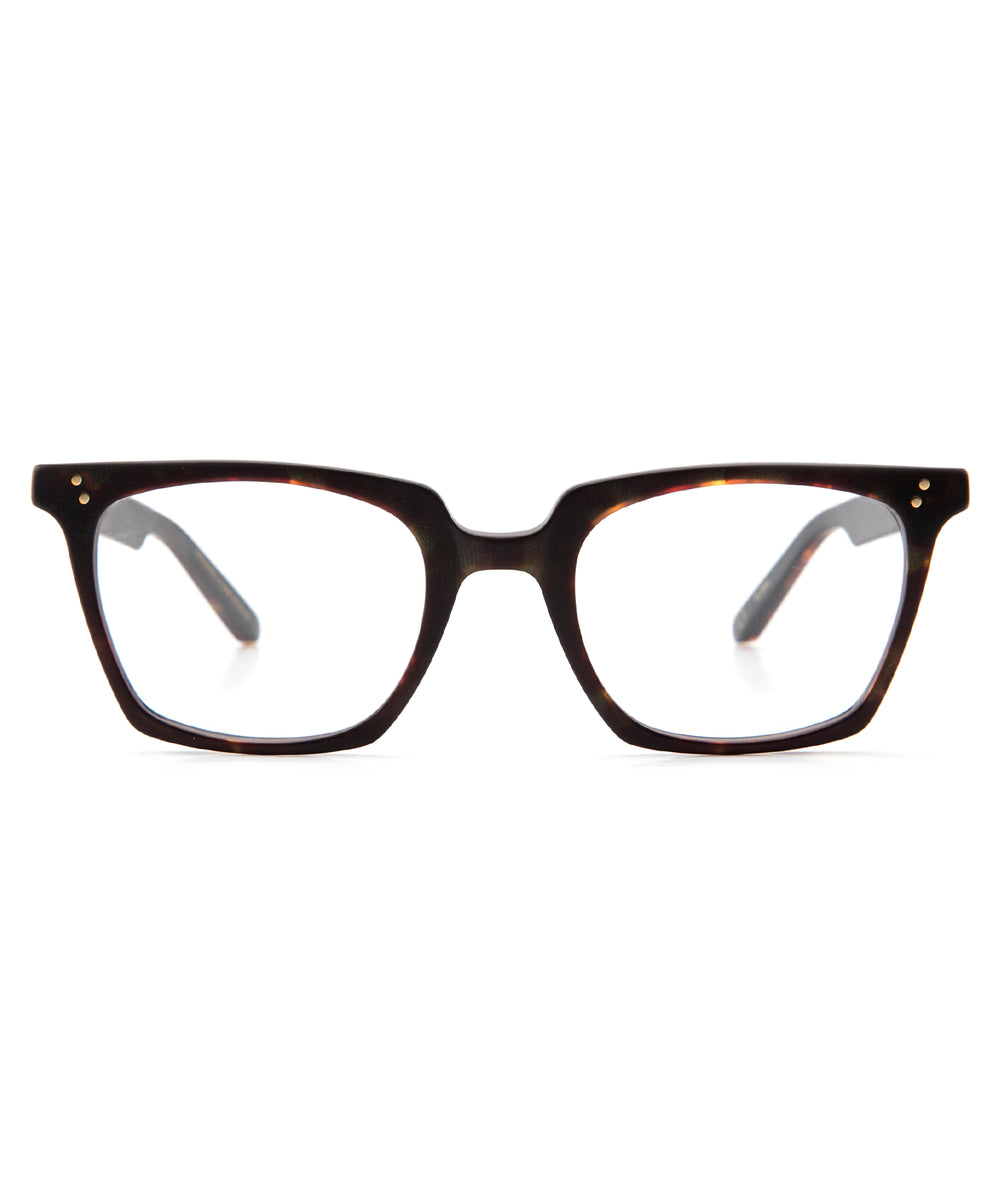 HOWARD | Matte Sazerac | Handcrafted acetate Optical frames.