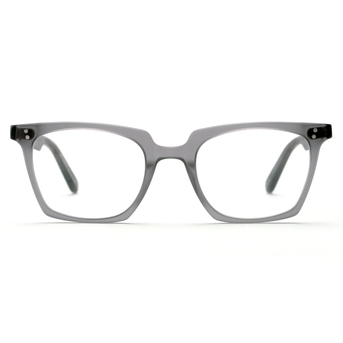 HOWARD | Matte Ash handcrafted acetate eyewear
