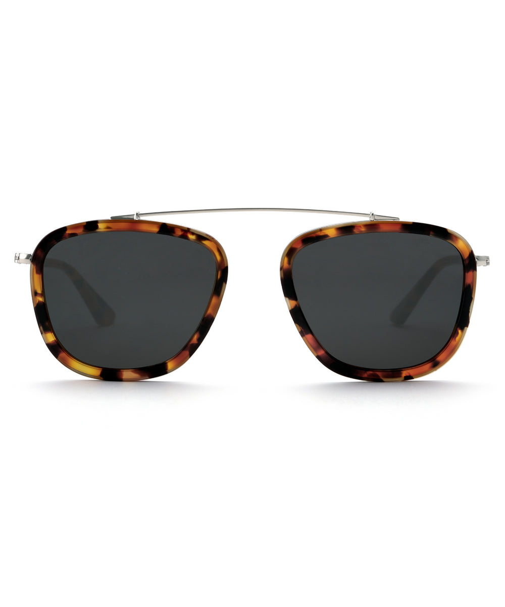HUEY | Havana handcrafted acetate sunglasses