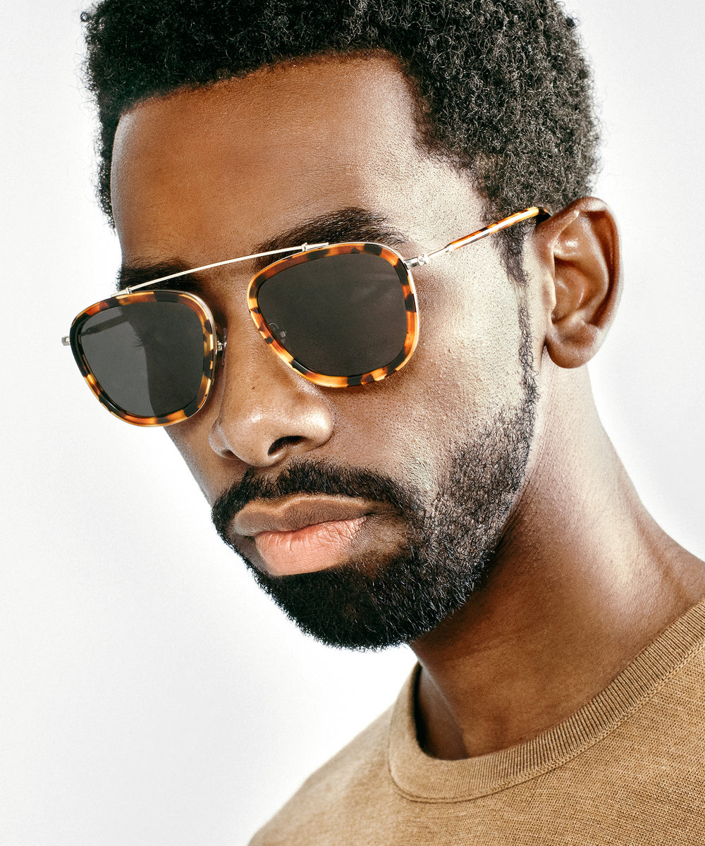 HUEY | Havana handcrafted acetate sunglasses | Featured Model