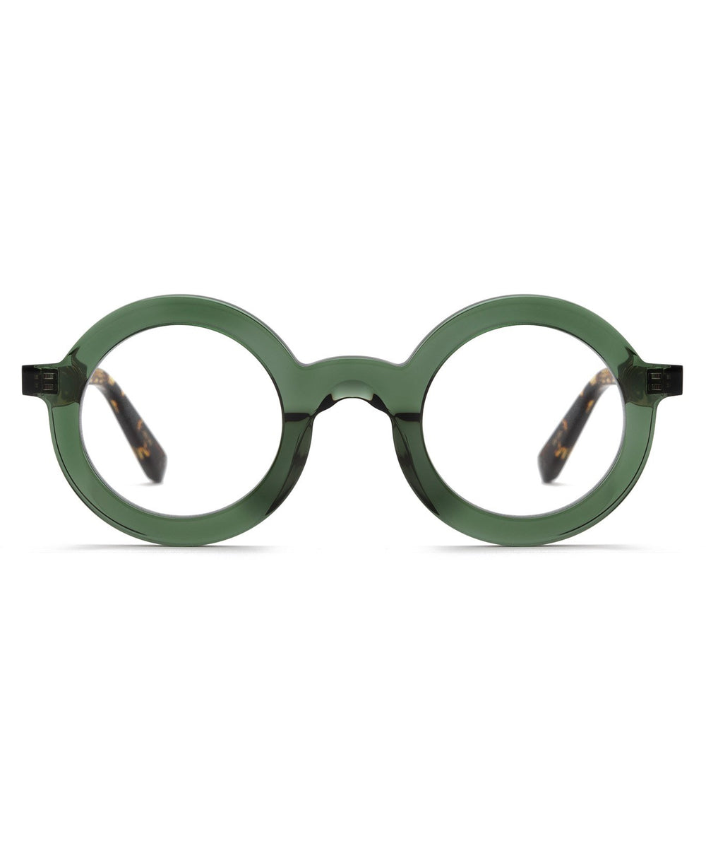 HURST | Bottle Green Handcrafted, Acetate frames
