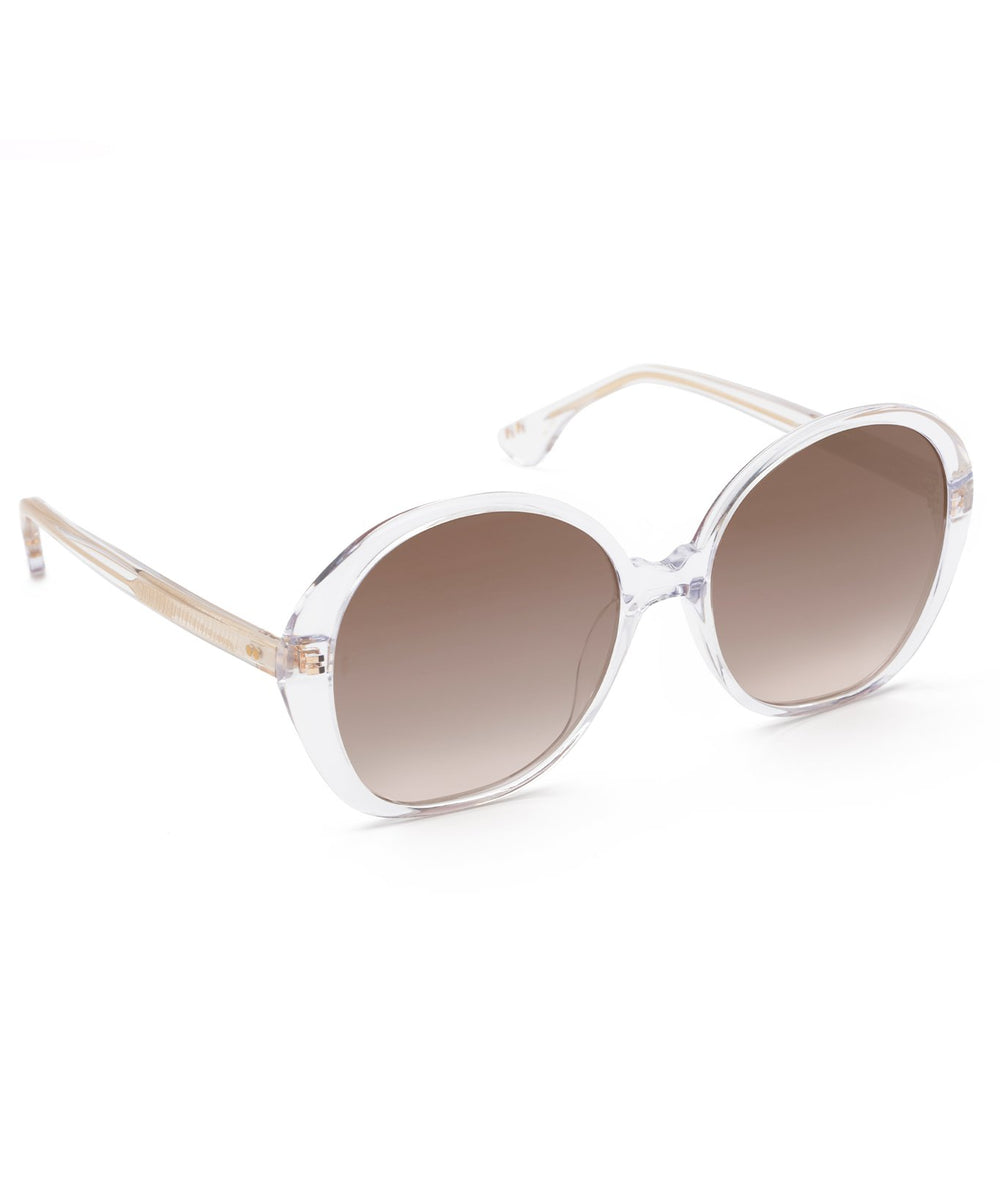 JEANNE | Crystal Mirrored Handcrafted, acetate sunglasses