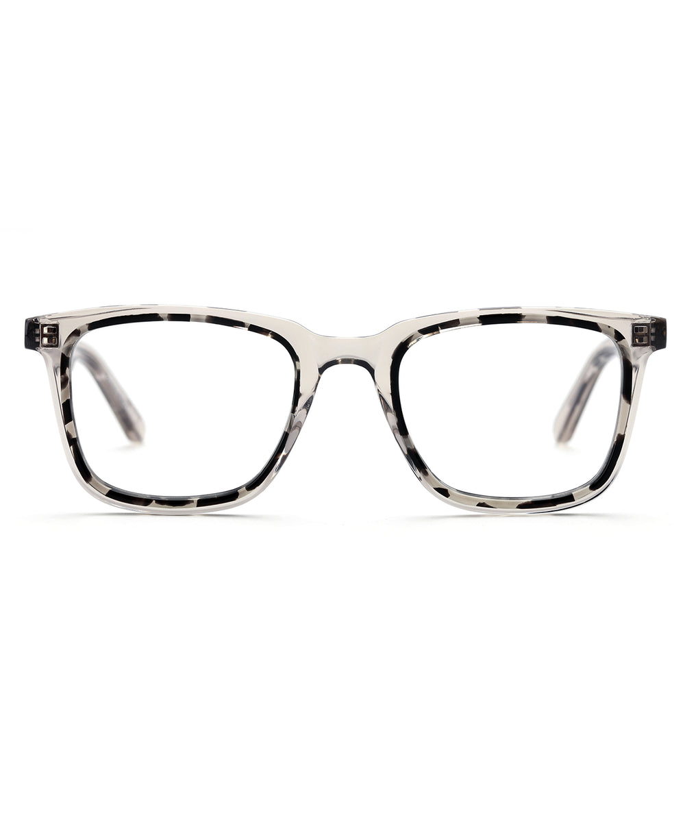 JOSEPH | Brume to Charcoal  - handcrafted acetate eyewear