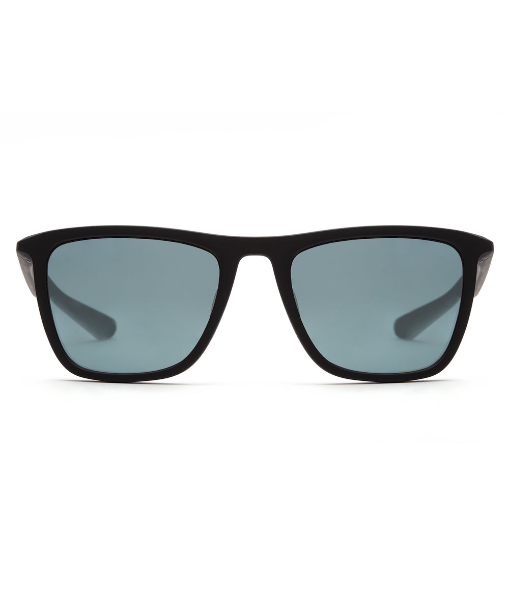 LABORDE | Matte Black Polarized Hand-Painted, Bio-Plastic Sunglasses