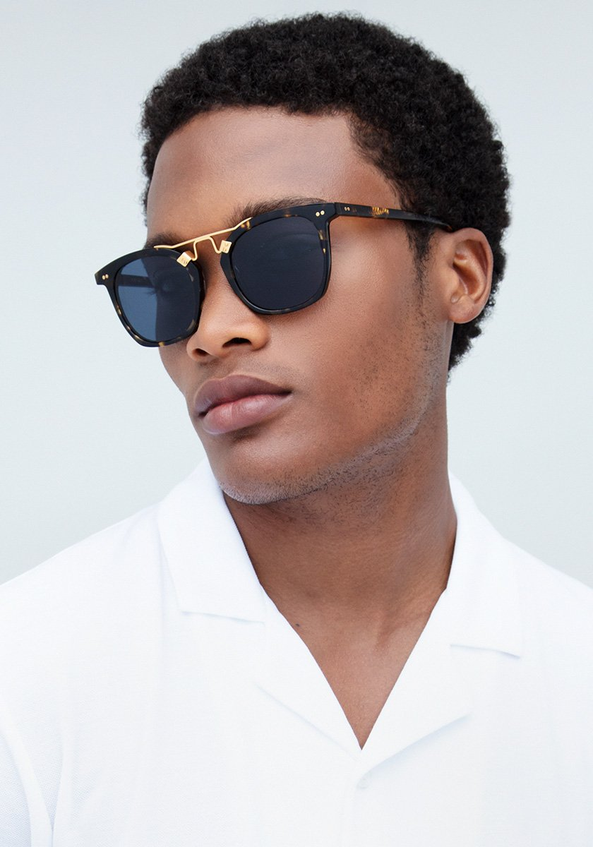 LAFAYETTE | Bengal Polarized 24K Handcrafted, Acetate Sunglasses | Featured Model | Mens