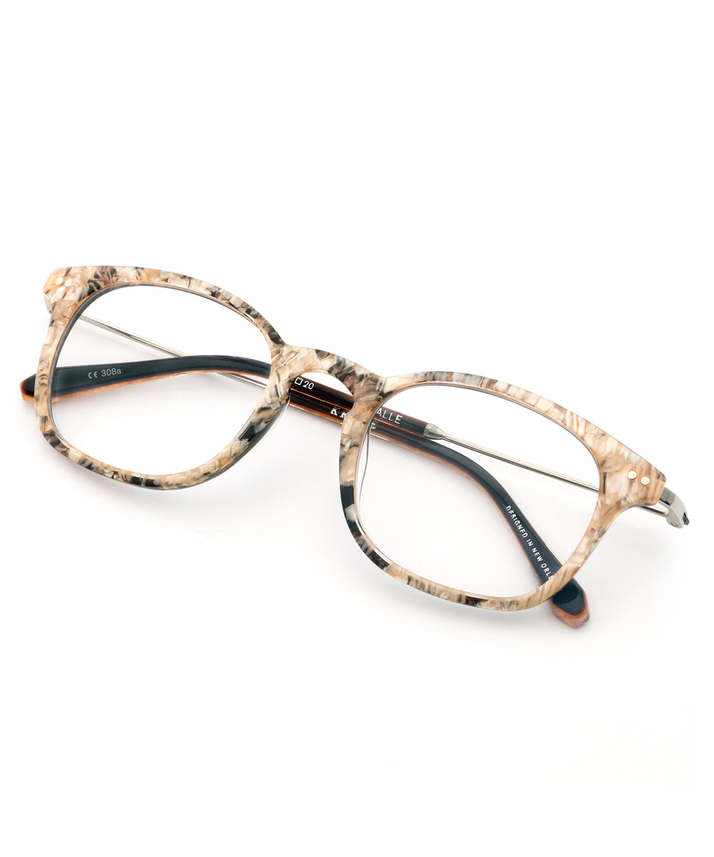 LA SALLE | Mystic merged with handcrafted acetate to form classic, rectangular Optical frames perfect for everyday.