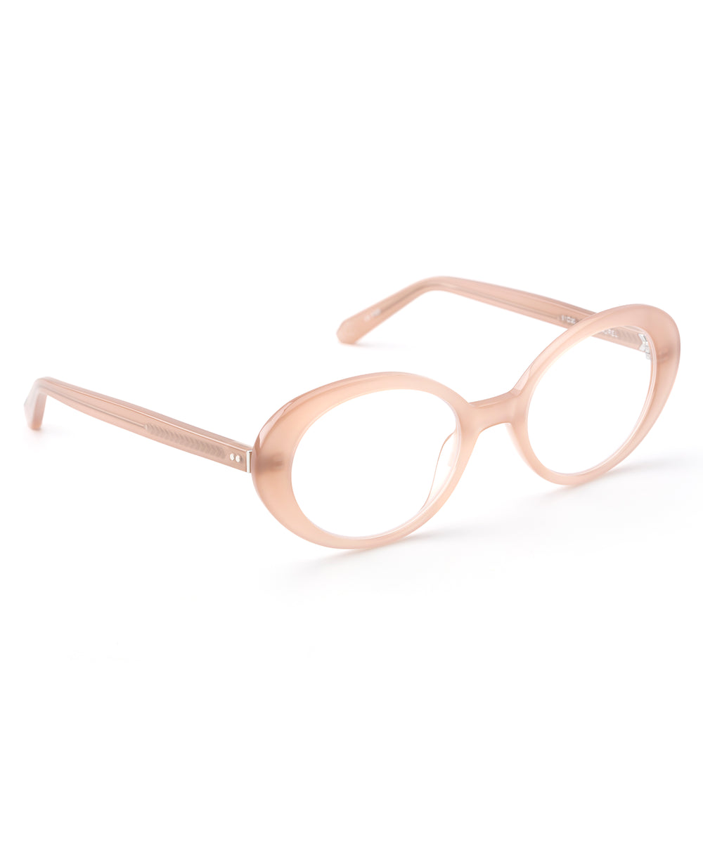 LAUREL OPTICAL | Blush handcrafted acetate sunglasses