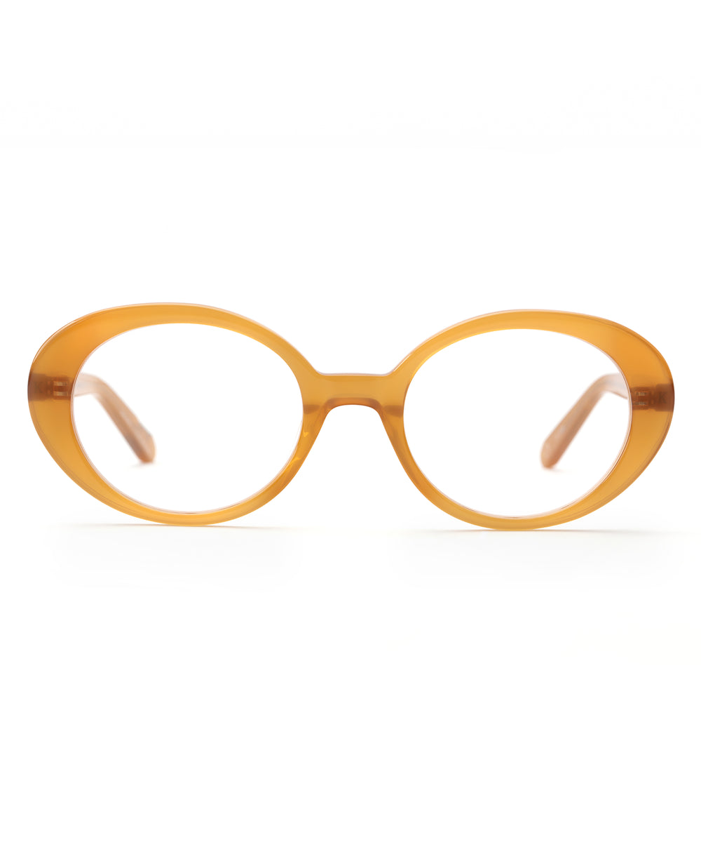 LAUREL OPTICAL | Toffee handcrafted acetate sunglasses