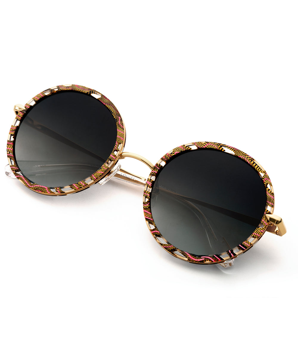 LOUISA | D'Oro handcrafted acetate sunglasses