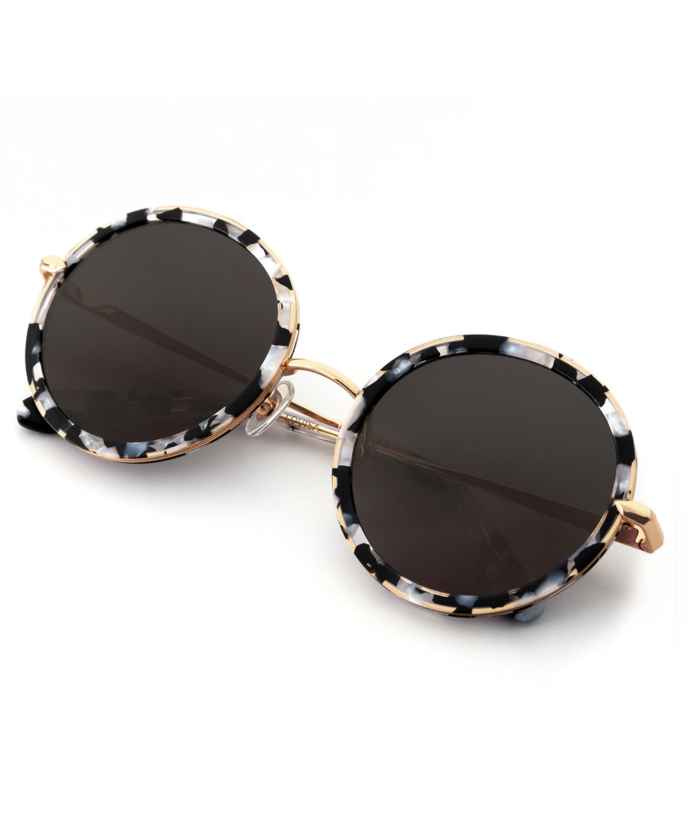 LOUISA | Interstellar 24K handcrafted acetate sunglasses