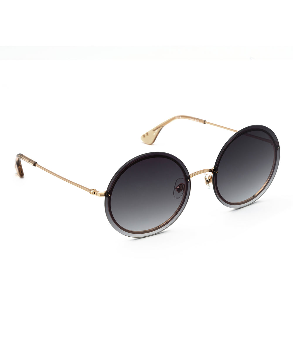 MADISON | 18K + Sweet Tea Handcrafted, Stainless Steel Sunglasses