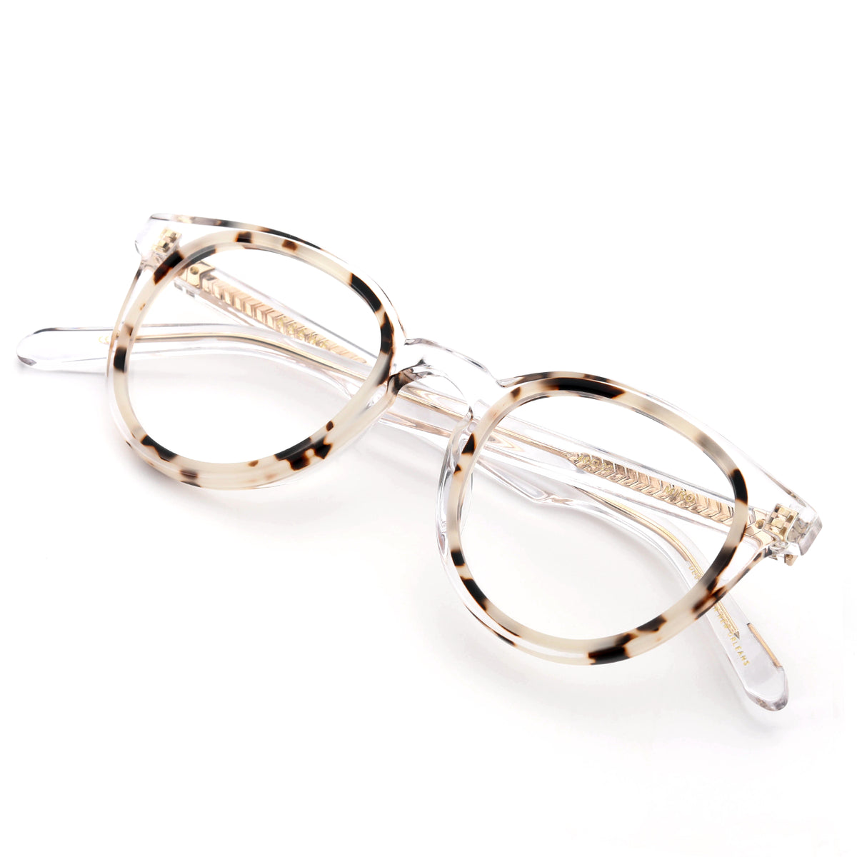 MIRO | Crystal to Oyster - handcrafted acetate eyewear