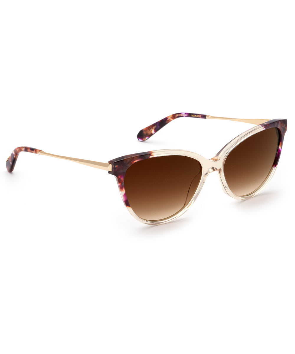 MONROE | Stardust to Haze Handcrafted, Acetate Sunglasses