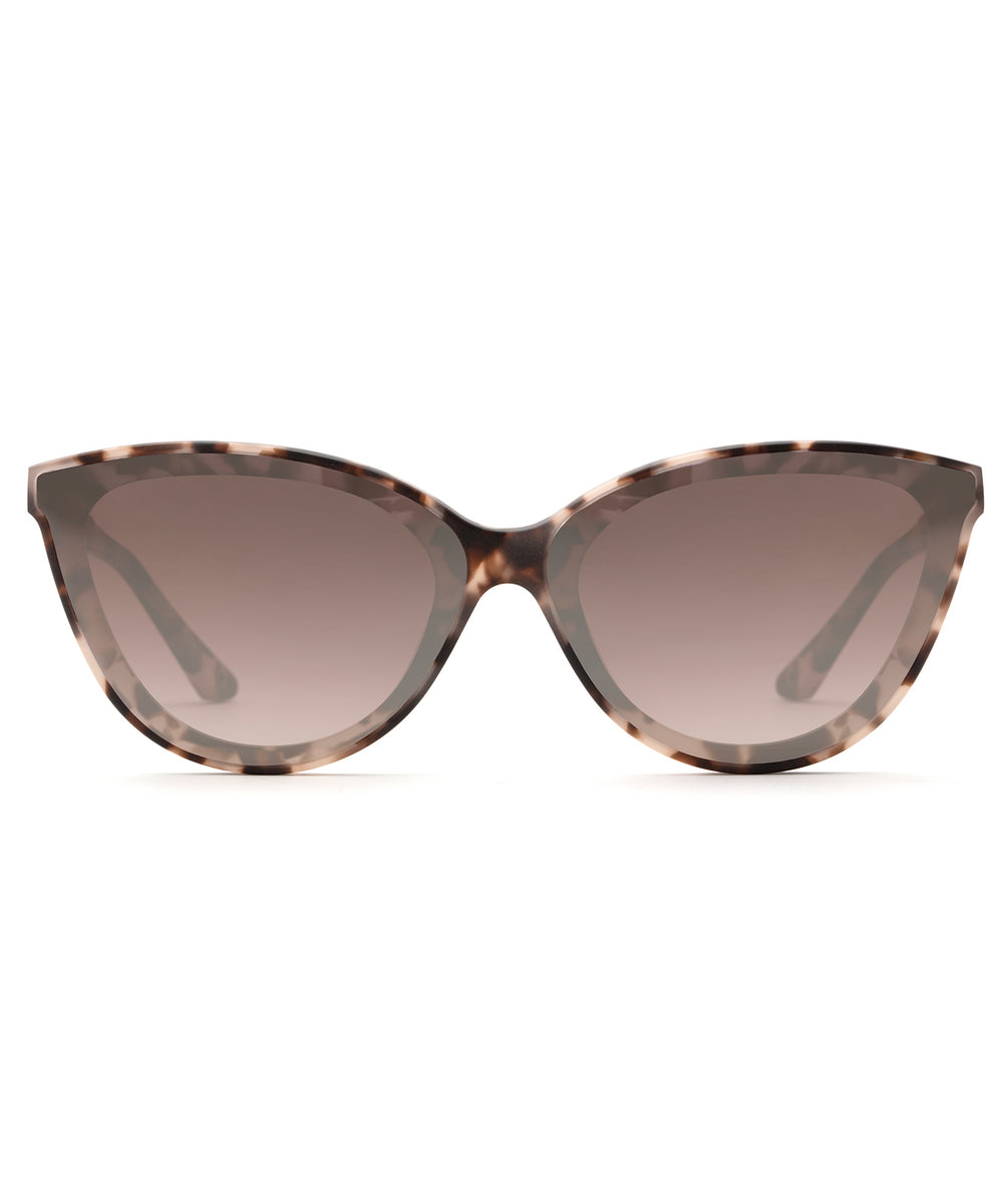 MONROE NYLON | Matte Sunday Tortoise Handcrafted, Acetate Sunglasses