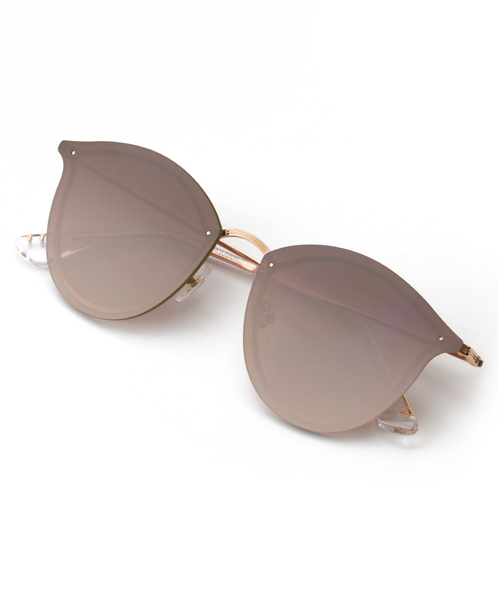 NELLIE | 24K + Crystal Handcrafted, Stainless Steel Sunglasses