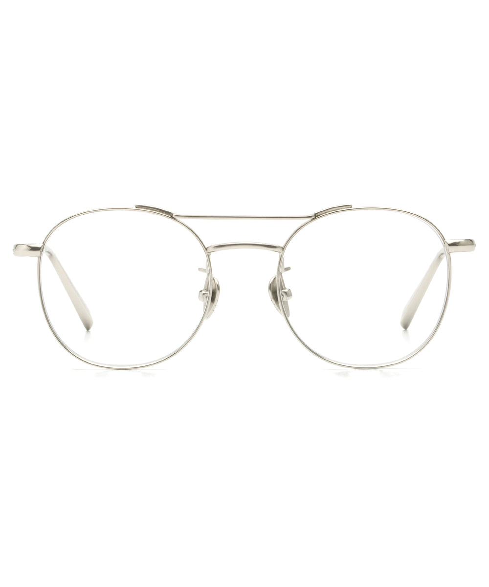 ORLEANS II | Titanium - Round Optical frames hand crafted from premium metals.