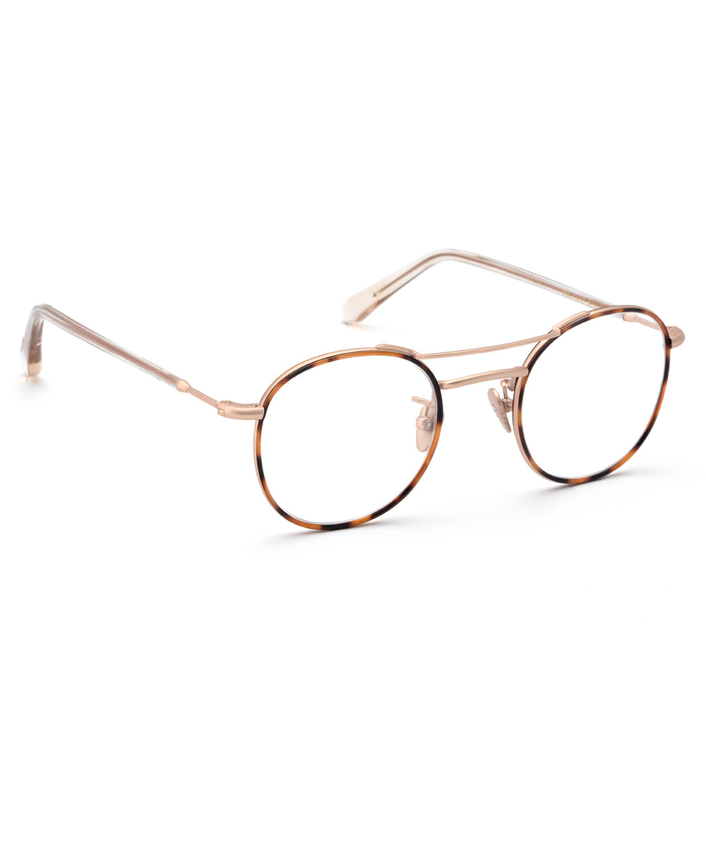 ORLEANS WINDSOR OPTICAL | Havana Matte Rose Gold Titanium
