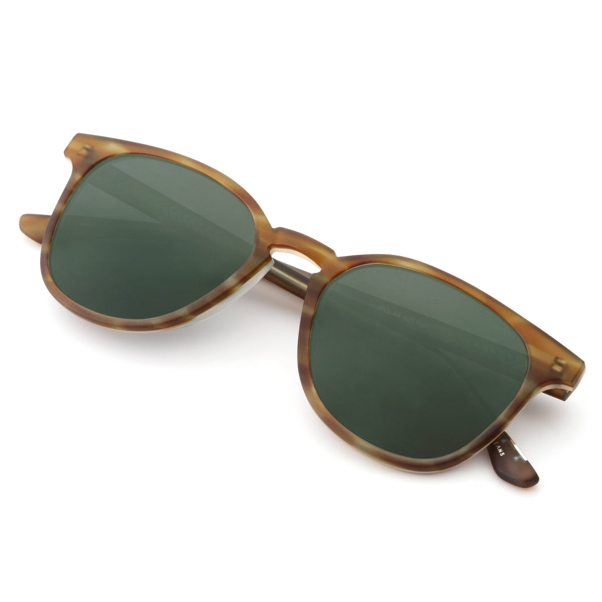 OLIVIER | Matte Willow Polarized handcrafted acetate sunglasses