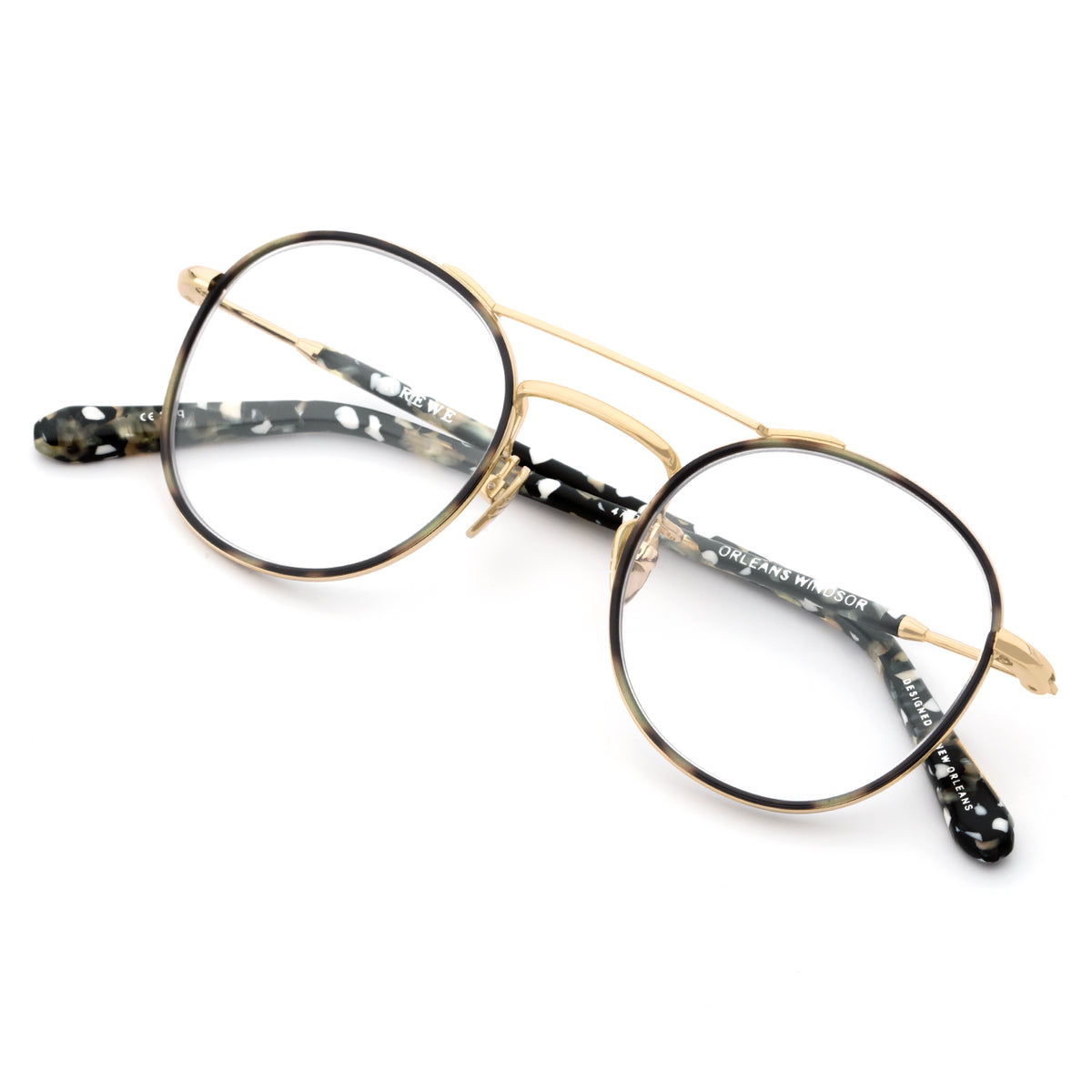 ORLEANS WINDSOR OPTICAL | Matte Charcoal 18K Titanium