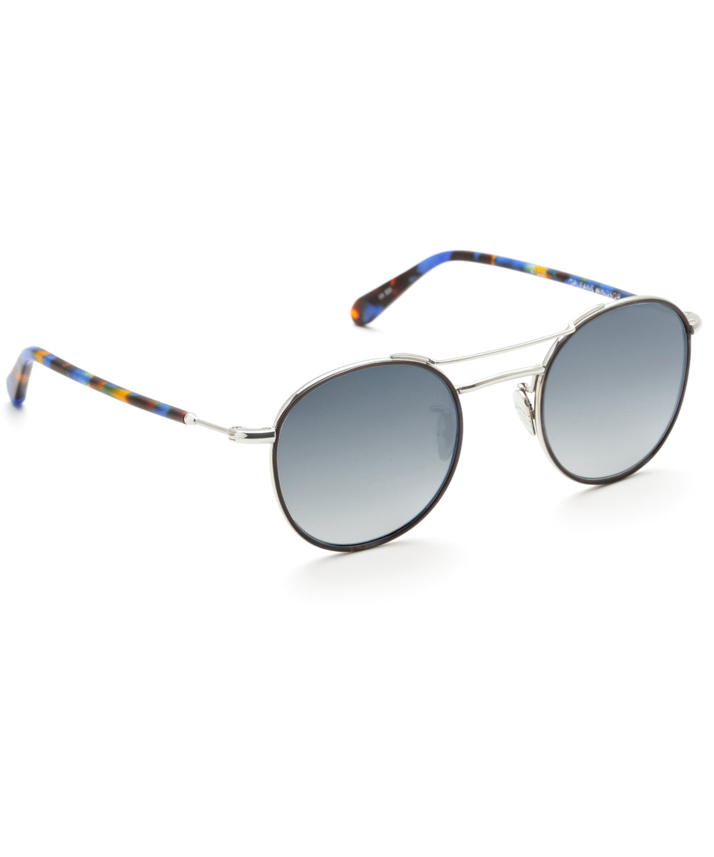 ORLEANS WINDSOR | Matte Blue Steel 12K Titanium