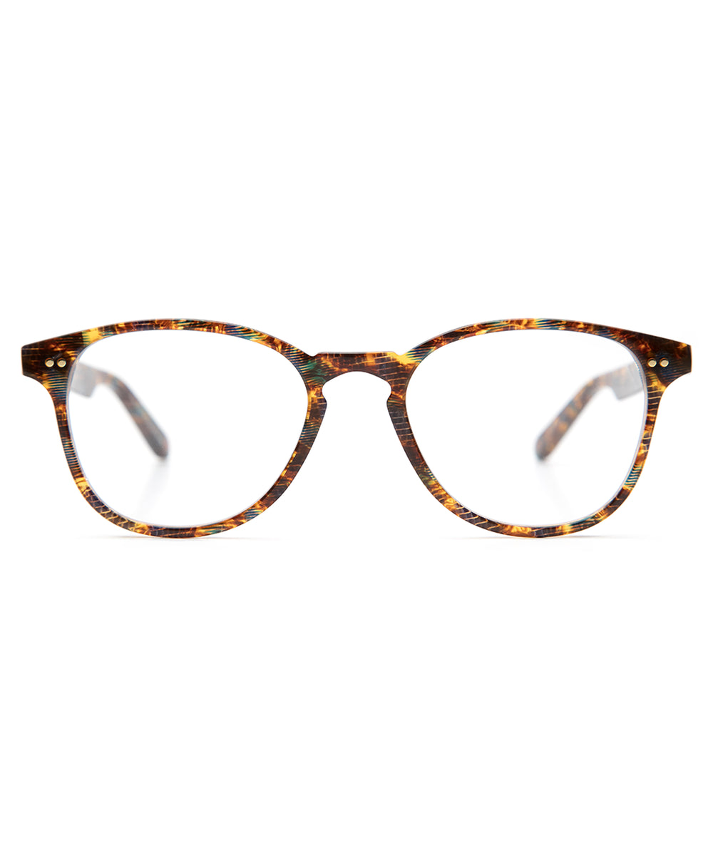 PERRIER | Heron - Handmade acetate Optical frames with a keyhole nose bridge.